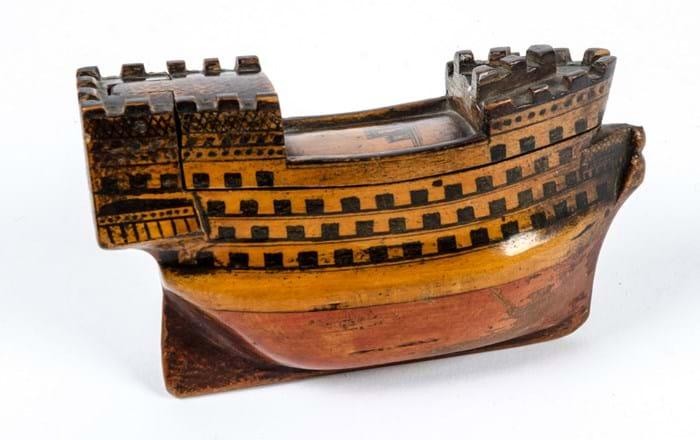 treen model ship