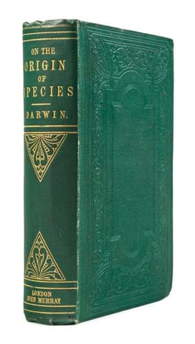 Charles Darwin's 'On the Origin of Species' first edition