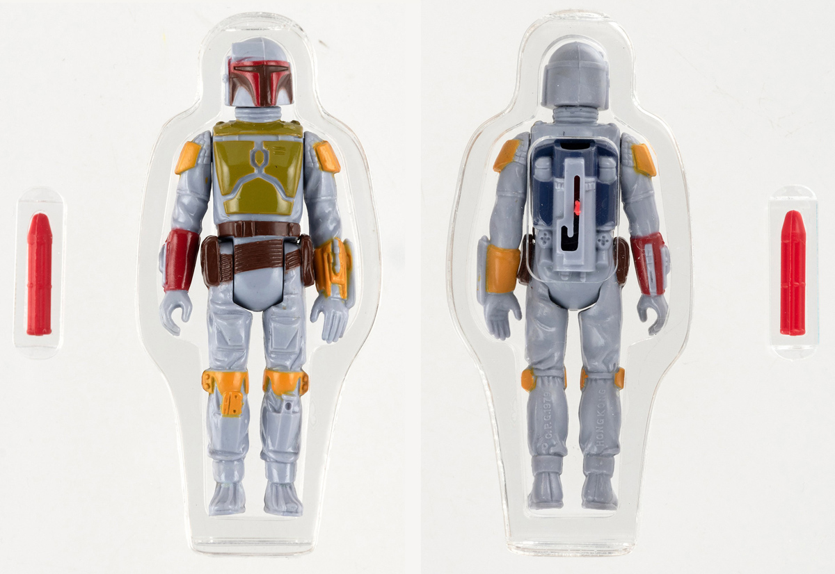 Auction Record For Star Wars Toy Set In Us With Sale Of Rocket Firing Boba Fett Figure