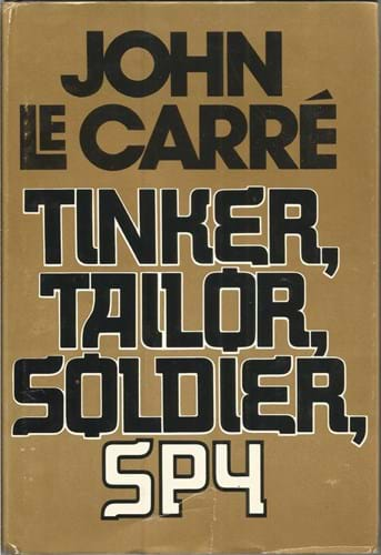 First edition of John Le Carre's 'Tinker, Tailor, Soldier, Spy'