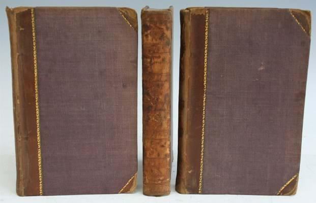 First edition of Sir Walter Scott's 'Ivanhoe'