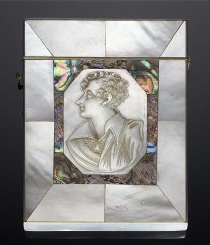Lord Byron card case