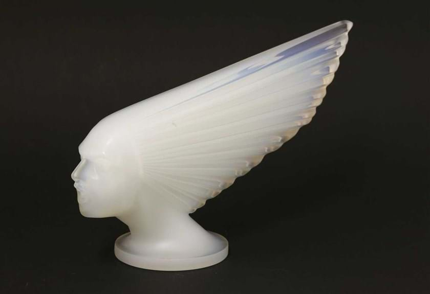 Lalique 'Spirit of the Wind' car mascot