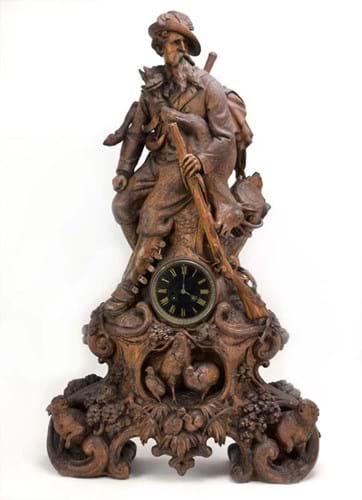 Johann Huggler of Brienz clock