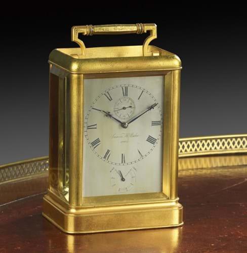 James McCabe carriage clock