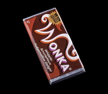 Wonka Bar from 'Charlie and The Chocolate Factory'