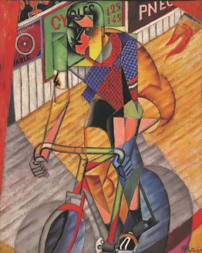 'Le cycliste' by Jean Metzinger