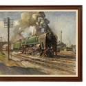 Terence Cuneo train painting