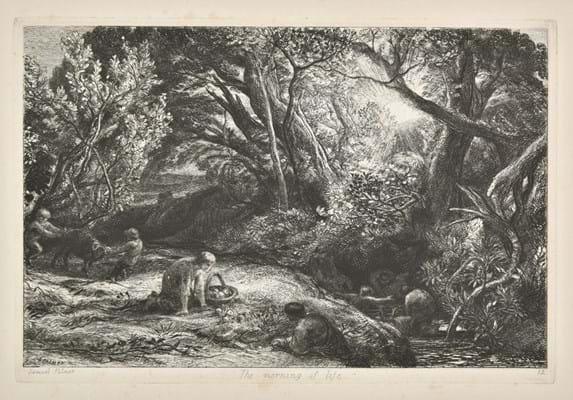 Samuel Palmer print