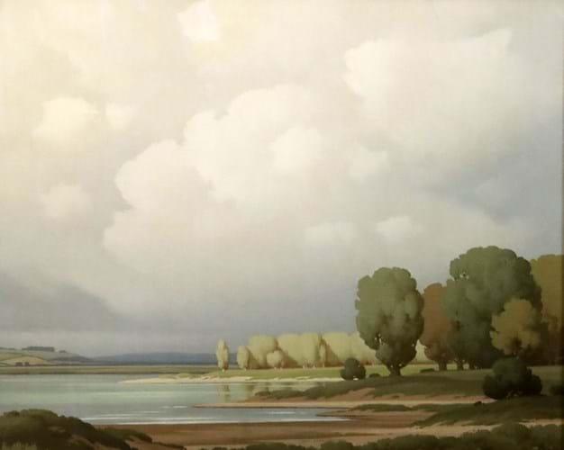 'Trees in a landscape' by Pierre de Clausades