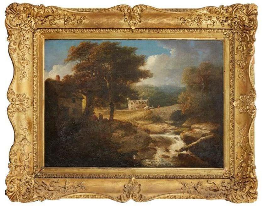 William Payne painting