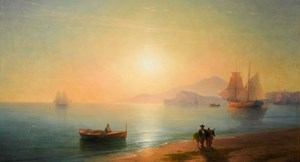 'The Bay of Naples' by Ivan Aivazovsky