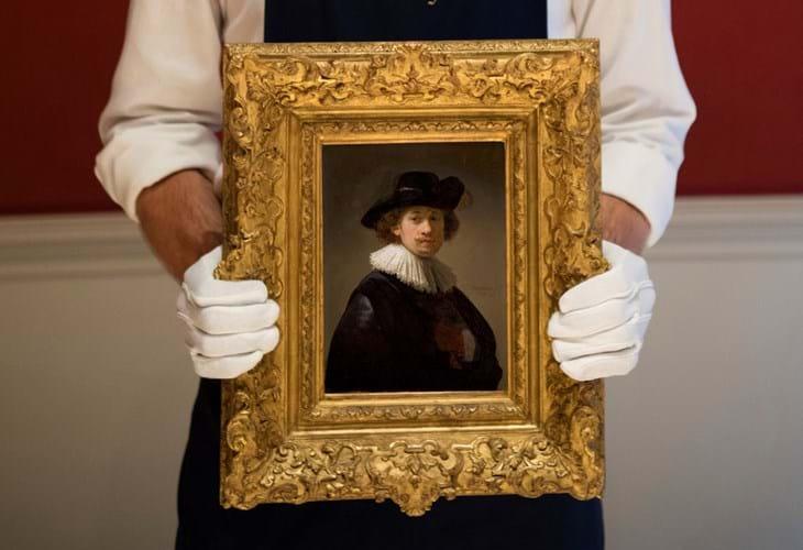 Rembrandt Van Rijn, Self-portrait, wearing a ruff and black hat, 1632, est £12-16 million ($15-20 million) -3.jpg