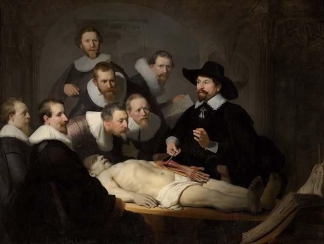 Rembrandt Van Rijn, The Anatomy Lesson of Dr Nicolaes Tulp, 1632.jpg