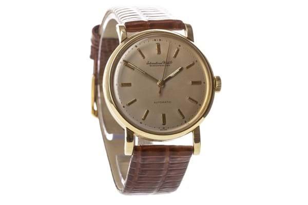IWC 18-carat gold watch