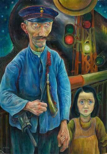 Albert Birkle painting