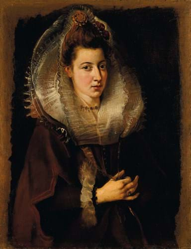 Lot 8 - SIR PETER PAUL RUBENS Portrait of a young woman.jpg
