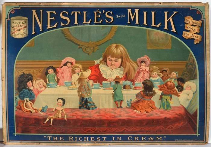 Nestle milk advert