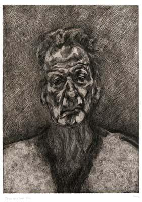 'Self Portrait: Reflection' by Lucian Freud