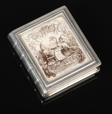 Victorian silver vesta case by Thornhill