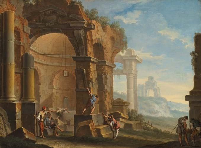 Capriccio by Sebastiano Ricci and Clemente Sper