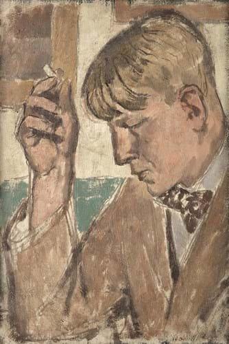 Portrait of WH Auden by Maurice Feild