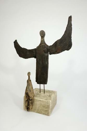 LOT 27 Roger Hardy The Guardian Sculpture 1.jpg