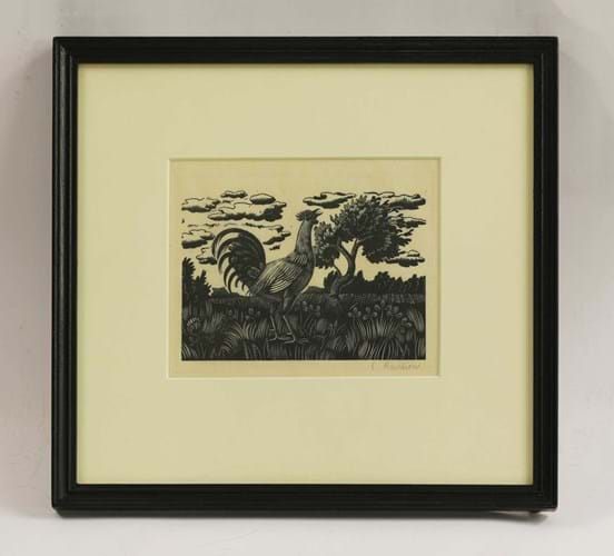 Chanticleer by Eric Ravilious