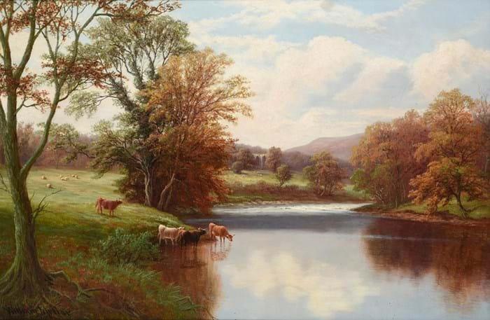 William Mellor landscape