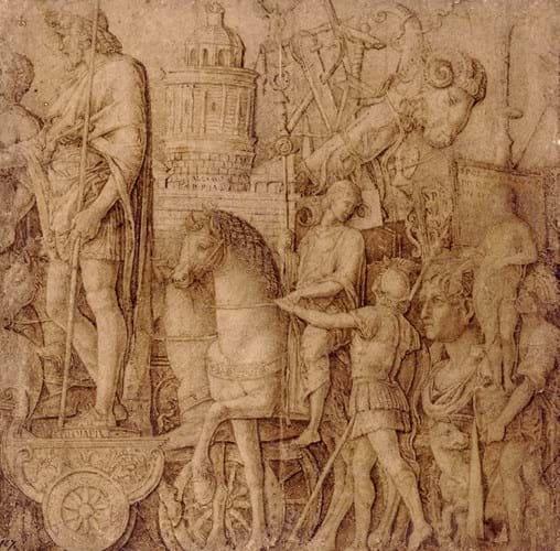 Andrea Mantegna drawing