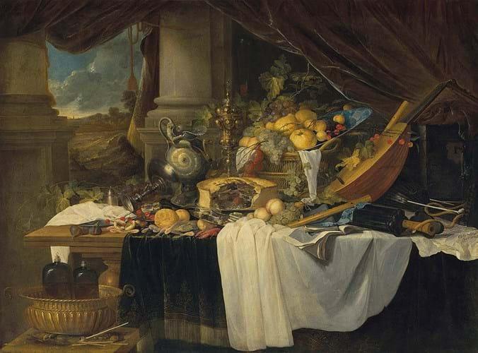 Jan Davidsz de Heem still life