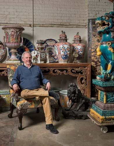 Brighton antiques dealer Patrick Moorhead