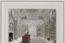 The Library at Strawberry Hill