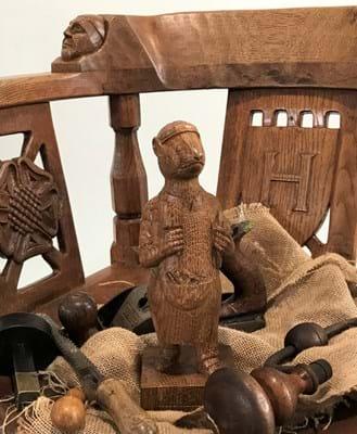 The Mouseman of Kilburn carving