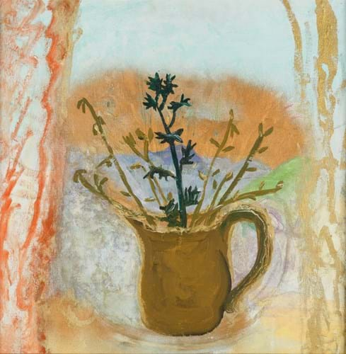 Winifred Nicholson flower picture
