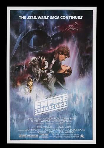 Roger Kastel poster for The Empire Strikes Back
