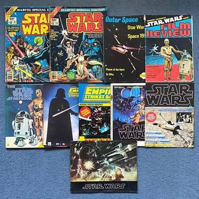 Star Wars magazines