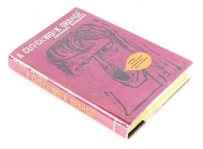 First edition of Anthony Burgess's 'A Clockwork Orange'
