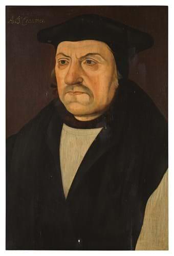 Portrait of Matthew Parker, Archbishop of Canterbury