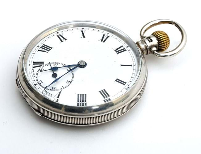 A Swiss pocket watch