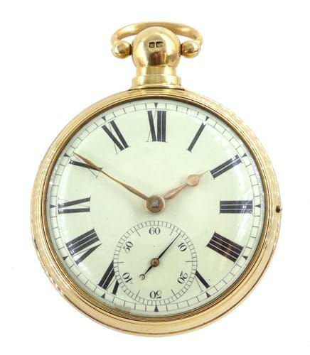 A George III pocket watch