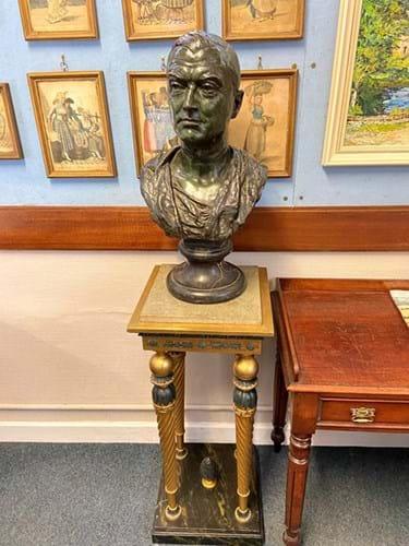 Bronze of engineer Peter Brotherhood