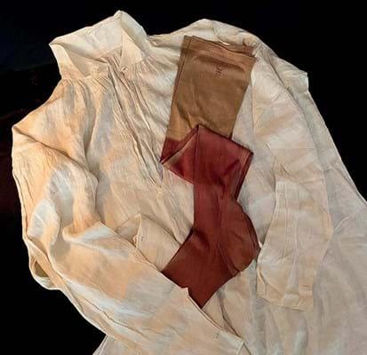 Napoleon's shirt and stockings