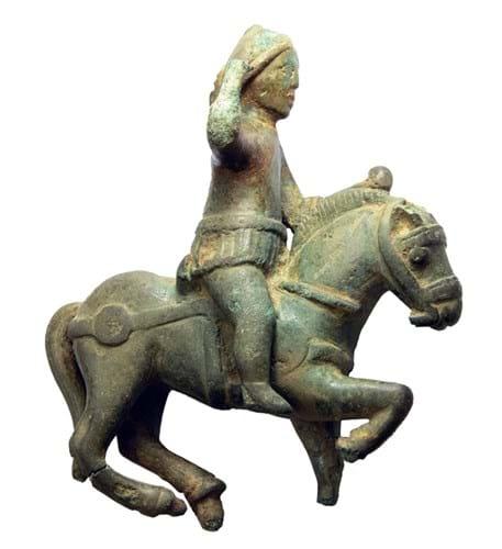 Statuette of the god Mars on horseback