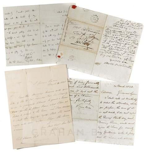 Thomas Coleman letters