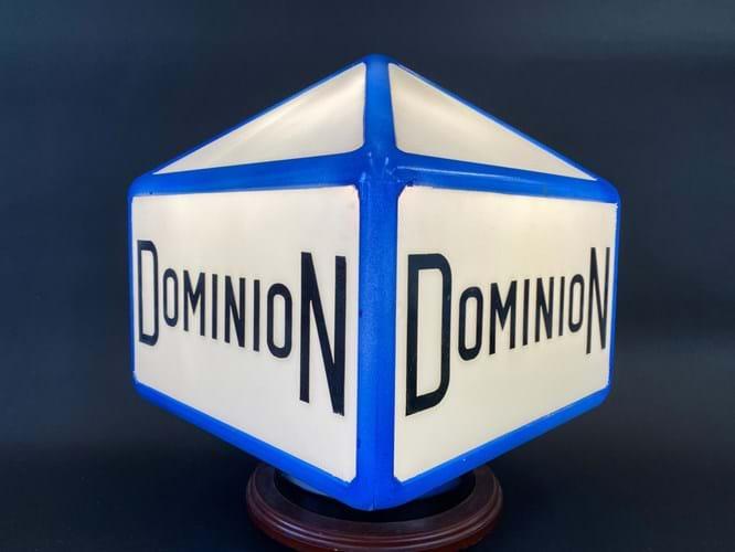 Dominion petrol pump globe