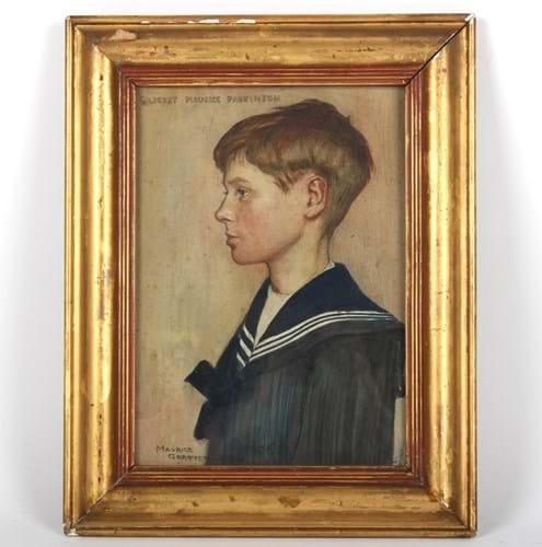 Maurice William Greiffenhagen portrait