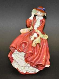 Royal Doulton figure Top O' the Hill