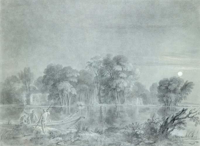 Circle of Richard Wilson drawing