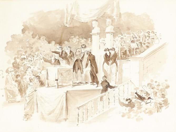 Prix de Rome drawing